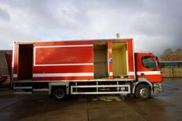 bakwagen vrachtwagen DAF LF 55 DAMAGED VEHICLE 2002
