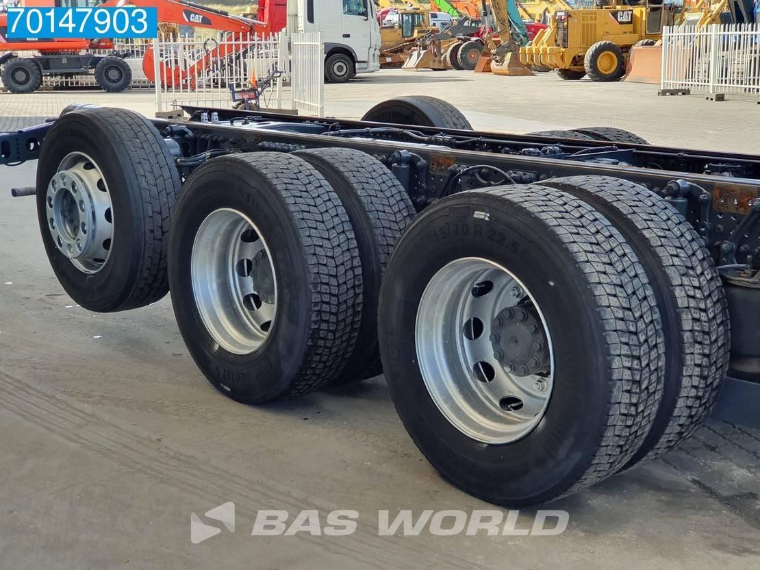 chassis cabine vrachtwagen Mercedes-Benz Actros 2658 8X4 Lift+Lenkachse Xenon Euro 6 2018