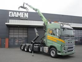 containersysteem vrachtwagen Volvo FH 16.750 8x4 ( Tridem ) 2014