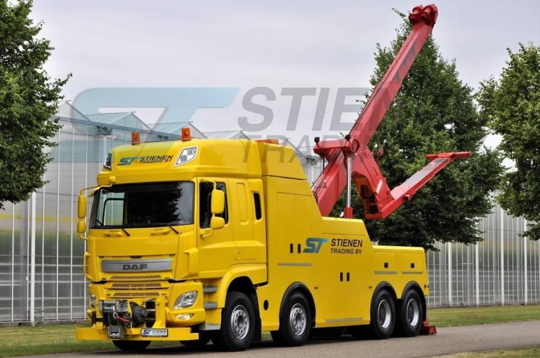 takelwagen-bergingswagen-vrachtwagen DAF CF 460 FAD 8x4 BB Heavy Wrecker 2014