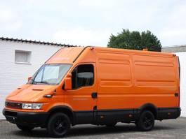 gesloten bestelwagen Iveco Daily 35S10 Lang + Hoch LBW Servicewagen Lkw 3,5t 2005