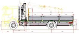 kraanwagen Volvo FE 280 bakwagen met HIAB 118 X-HiDuo B3 2021