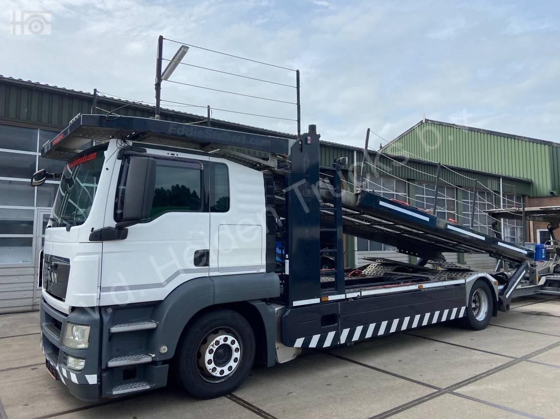 autotransporter vrachtwagen MAN TGS 18 + KASSBOHRER - Compleet Bj. 2012 2012