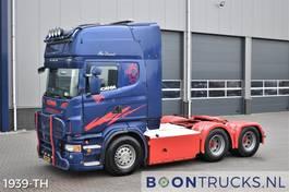 standaard trekker Scania R560 V8 6x4 | EURO5 * RETARDER * MANUAL * HYDRAULICS * FULL AIR * APK 02-2022 2009