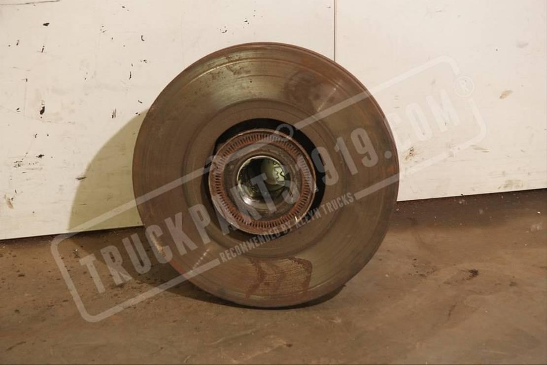 Naaf vrachtwagen onderdeel MAN 81.93420-0349 Wheel bearing + brake disc front MAN