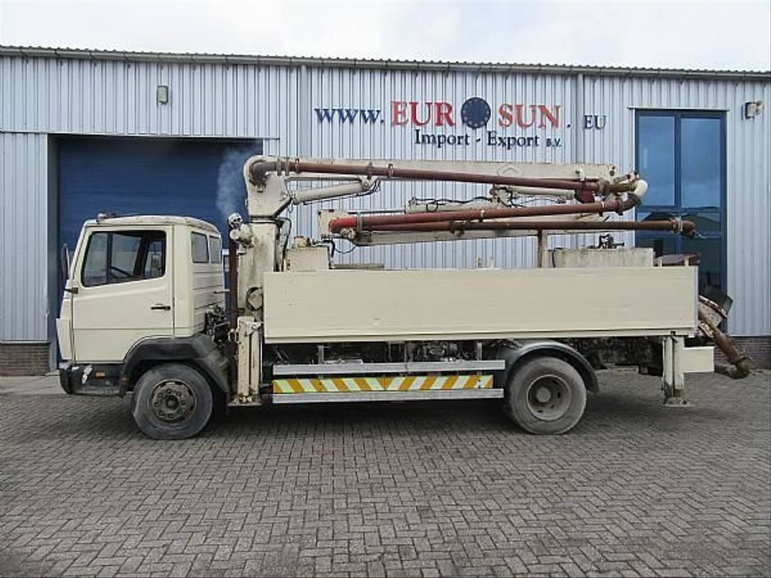 betonpomp vrachtwagen Mercedes-Benz SCHWING City pump M16/13 Z pump type: BPL 500 R 1993
