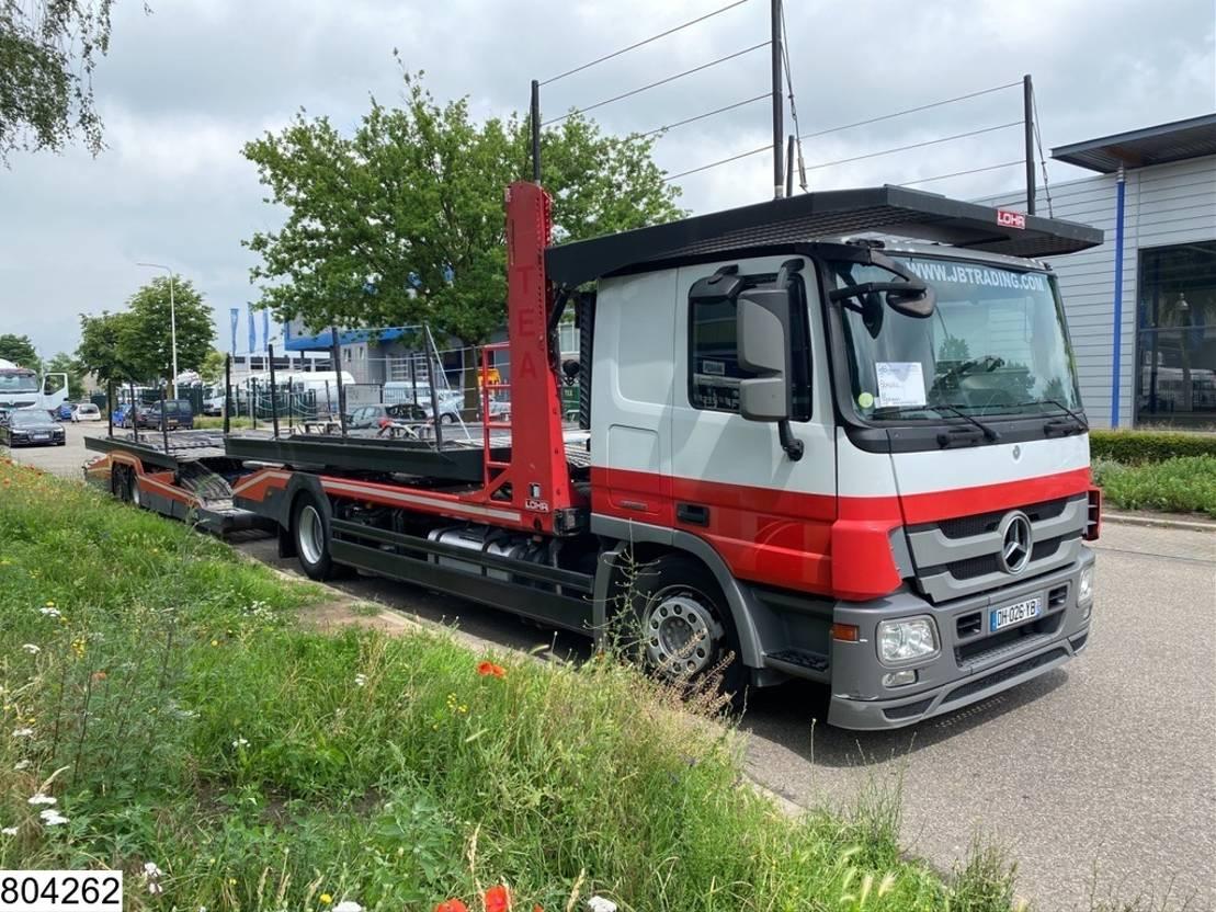 autotransporter vrachtwagen Mercedes-Benz Actros 1841 EURO 5 EEV, Lohr, Multilohr, Retarder, Combi 2014