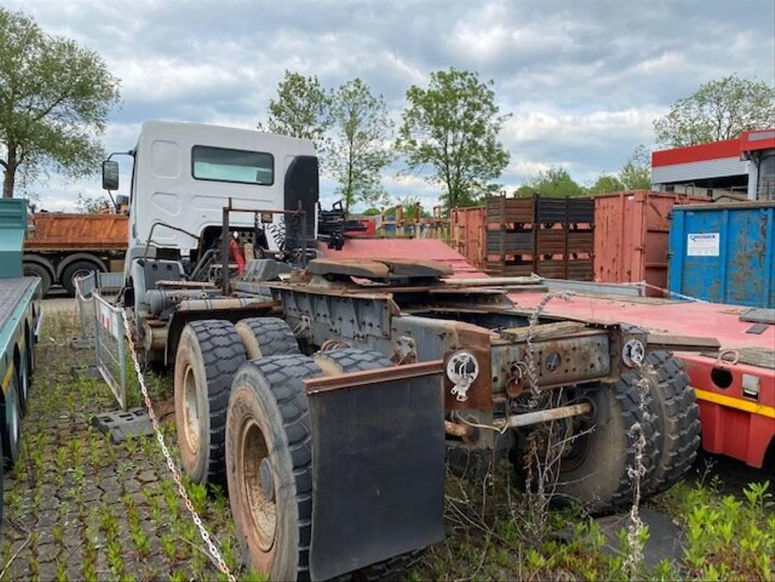 chassis cabine vrachtwagen Renault 350.34 6x6 Kerax 350.34 6x6 2001