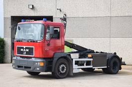 containersysteem vrachtwagen MAN 19.343 4X2 CONTAINER SYSTEEM- CONTAINER SISTEEM- CONTAINER HAAKSYSTEEM- SYSTEME CONTENEUR 2000
