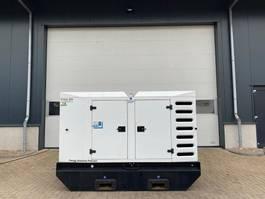 generator SDMO R110 C3 John Deere Leroy Somer 110 kVA Supersilent Rental Stage 3A generatorset 2015