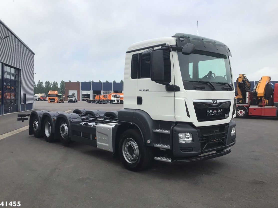 chassis cabine vrachtwagen MAN 34.430 8x2 Chassis NEW! 2021