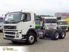 chassis cabine vrachtwagen Volvo 12.340 + Manual+6x4+blad blad 2002