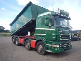 kipper vrachtwagen > 7.5 t Scania R560 V8 8x2 2012