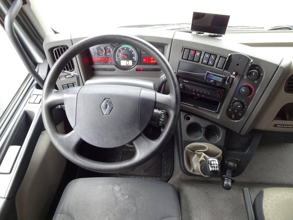 autotransporter vrachtwagen Renault AUTO TRANSPORTER + TIJHOF 8 mtr TRAILER 2012