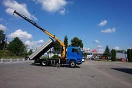 kipper vrachtwagen > 7.5 t MAN TGA 18 4x4H Palfinger PK 12000 Kipper 2007
