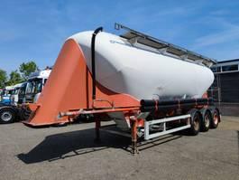 silo oplegger SPITZER BBS F28 EUT 39m³ SAF-Assen - Schijfremmen - ALU (O635) 2000