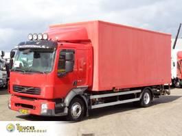 bakwagen vrachtwagen Volvo FL 240 + Manual + Dhollandia Lift + euro 4 2008