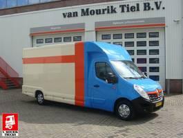gesloten bestelwagen Renault MASTER POLYVOLUME DURISOTTI 22 m3 - EURO 6 - V-609-JS 2017