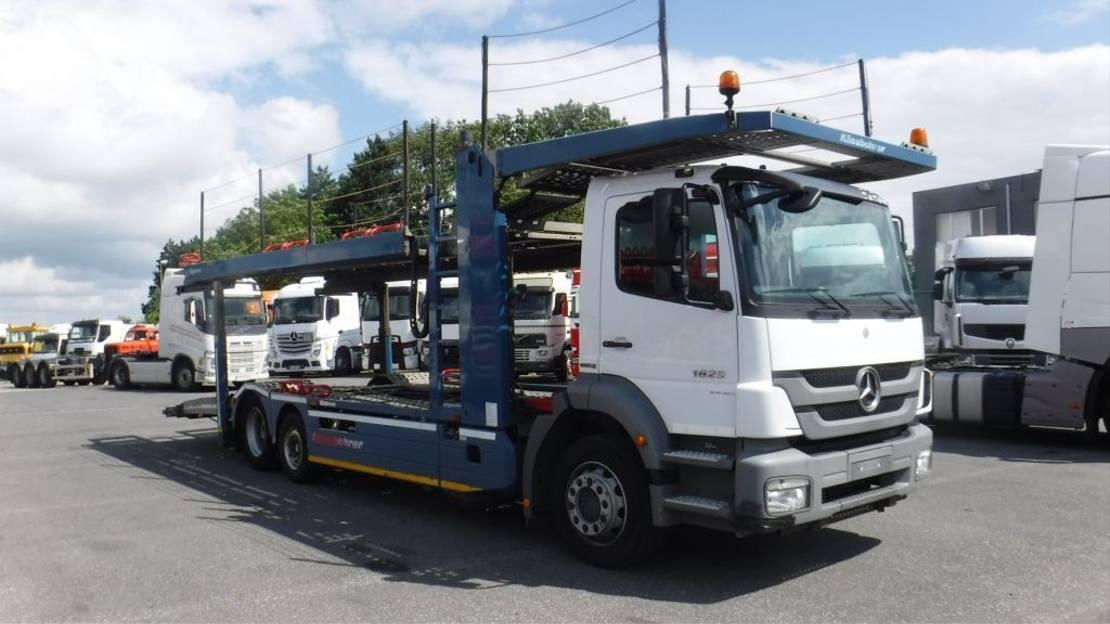 autotransporter vrachtwagen Mercedes-Benz 1829 2012