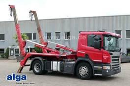 containersysteem vrachtwagen Scania P320 DB4x2HNZ, Euro 6, Meiller AK12MT, Klima 2017
