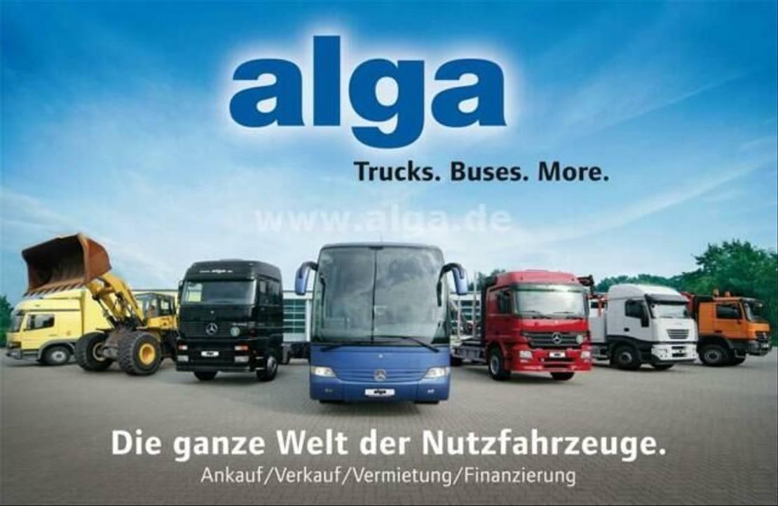 autotransporter vrachtwagen Mercedes-Benz 1828 L Axor, Schiebeplane, Edscha, Rampen 2005