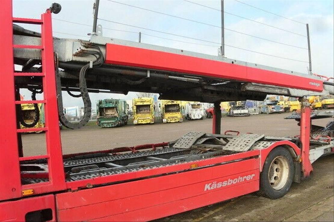 autotransporter vrachtwagen Volvo 510 4x2, Kässbohrer-Aufbau, Komplettzug,Klima 2011