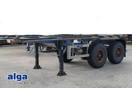 chassis oplegger Blumhardt ANDERE, 20 Fuß, Blattfederung, Trommelbremsen 1988