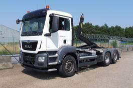 containersysteem vrachtwagen MAN TGS 26 .360 L - 6x2/4 -STUURAS - 3,90 m WIELBASIS - PERFECTE STAAT