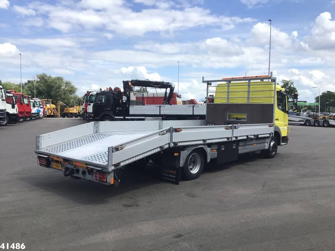 autotransporter vrachtwagen Mercedes-Benz Atego 816 Autotransporter met oprijplaten 2014