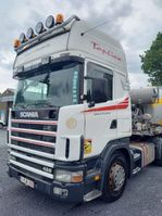 standaard trekker Scania R124 -TOPLINE- RETARDER -2 BEDS