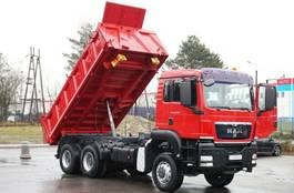 kipper vrachtwagen > 7.5 t MAN TGA 26 6x6 EURO 5 MEILLER Kipper Tipper , 2008