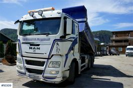 kipper vrachtwagen > 7.5 t MAN TGX 33 6x4 tipper truck. Steel suspension. 2012
