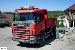 kipper vrachtwagen > 7.5 t Scania R164 6x4HZ tipper truck 2004