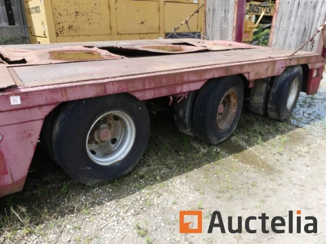 autotransporter vrachtwagen Wabco Nooteboom OSDB-45 VV 1989