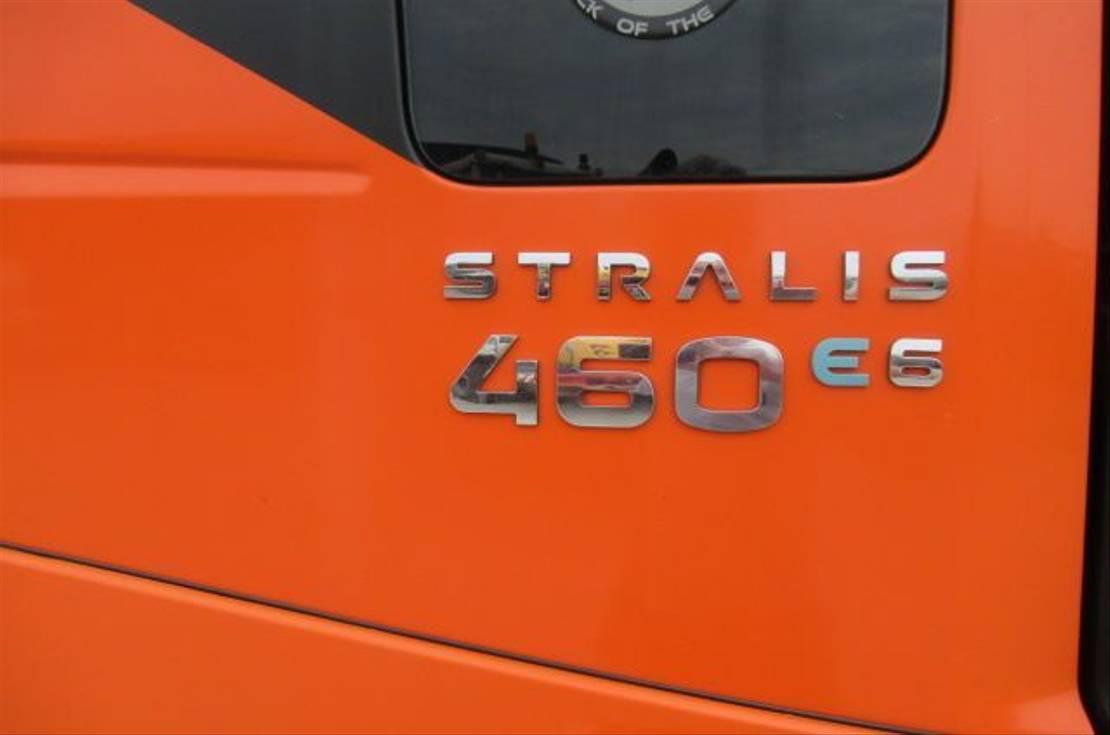 autotransporter vrachtwagen Iveco Stralis 460 6x2 Euro 6 2014