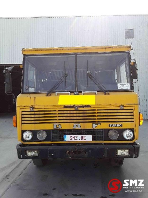 chassis cabine vrachtwagen DAF turob 1972