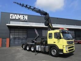 containersysteem vrachtwagen Volvo FM 410 8x4 ( Tridem ) Haak/Kraan 2011