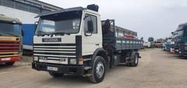kipper vrachtwagen > 7.5 t Scania 93 M - With Crane 1990
