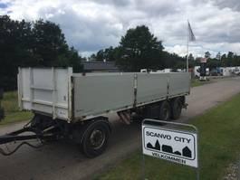 platte aanhanger vrachtwagen Kel-Berg 3-axle 7,75m open trailer with 1.000mm alu-sides 2016