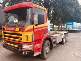 containersysteem vrachtwagen Scania P114-380 114 2001