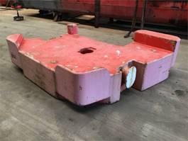 overige equipment onderdeel Terex Demag Counterweight 10 ton left