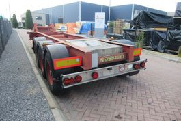 container chassis oplegger MOL Container Chassis / 20FT / ROR + Drum 1985