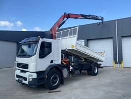 kipper vrachtwagen > 7.5 t Volvo FE 280 KIPPER+KRAAN EURO4