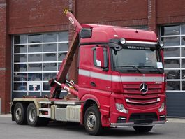 containersysteem vrachtwagen Mercedes-Benz Actros 2751 6x2 - Hooklift Hyva 22T - Retarder - Full air suspension - Euro6 2016