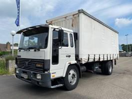 schuifzeil vrachtwagen Volvo FL 6 MANUAL FULL STEEL SPRING 1990