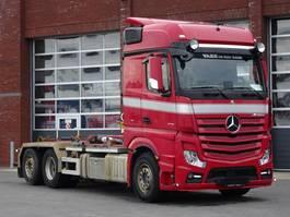 containersysteem vrachtwagen Mercedes-Benz Actros 2751 6x2 - Hooklift Hyva 22T - Retarder - Euro6 2016