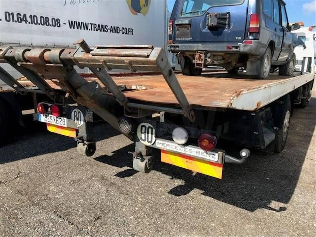 autotransporter vrachtwagen Mercedes-Benz 1520 1992