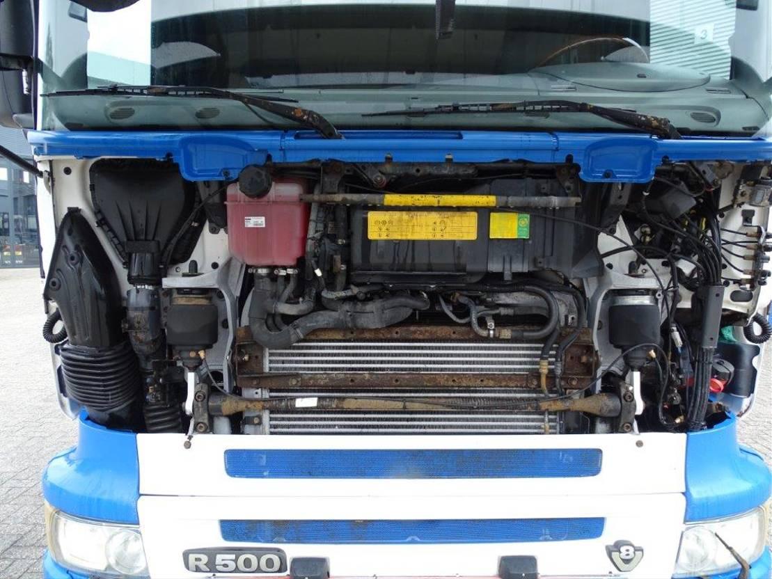 chassis cabine vrachtwagen Scania R500 / AUTOMATIC / RETARDER / 10 WHEELS / 6X2 / EURO-3 / 2006 2006