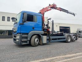 containersysteem vrachtwagen MAN TGS 26.320 Euro5 Container / Kraan HMF 1563 2013