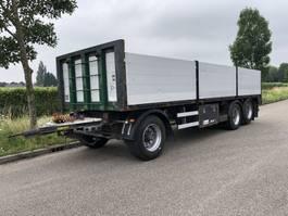 platte aanhanger vrachtwagen Renders 3 asser renders aanhanger liftas met alu borden 2009